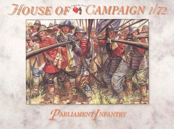 1/72 English Civil War: Parliament Infantry (32) - A Call to Arms 63
