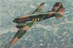 1/144 AC47D Spooky US Ground Attack Aircraft - Roden 310