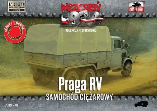 1/72 WWII Polish, German, Czechoslovakian PRAGA RV Truck - First to Fight 030