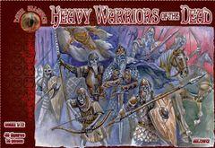 1/72 Heavy Warriors of the Dead Figures (40) - ALLIANCE FIGURES 72012
