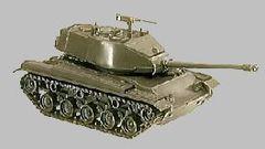 1/87 M41 NATO Tank - Herpa 207