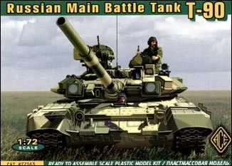 1/72 Russian T90 Modern MBT - ACE 72163