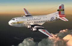 1/144 C124A Globemaster II USAF Transport Aircraft - Roden 306