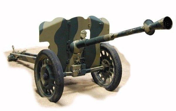 1/72 French SAI Mle Mod 1937 25mm Anti-Tank Gun - ACE 72522