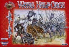 1/72 Warg Half Orcs Figures (12 Mtd) - ALLIANCE FIGURES 72018