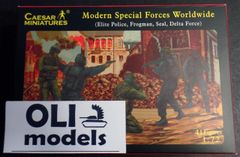1/72 Modern Special Forces Worldwide: Elite Police, Seal, Delta Force, Frogman (41) - Caesar 61