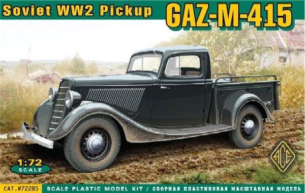 1/72 GAZ-11-415 WWII Soviet Pickup Truck - ACE 72285