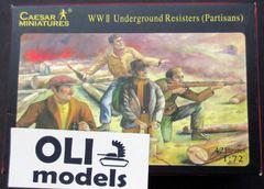 1/72 WWII Underground Resisters (Partisans) (42) - Caesar 06