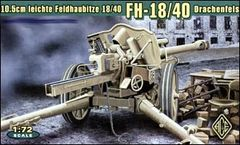 1/72 German leFh18/40 10.5cm WWII Field Howitzer - ACE 72226