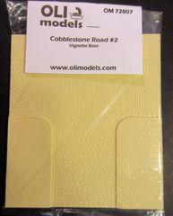 1/72 Cobblestone Road #2 RESIN Vignette / Diorama Base - OLI Models 72807