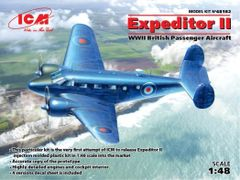 1/48 WWII British Expeditor II Passenger Aircraft - ICM 48182