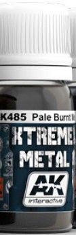 Xtreme Metal Pale Burnt Metal Metallic Paint 30ml Bottle - AK Interactive 485