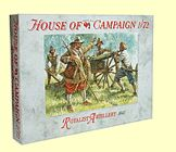 1/72 English Civil War: 1642 Royalist Artillery (16 & 4 Cannons) - A Call to Arms 59