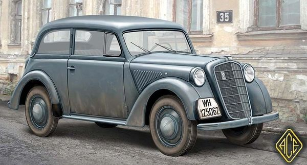 1/72 Olympia Model 1937 Saloon Staff Car - ACE 72506