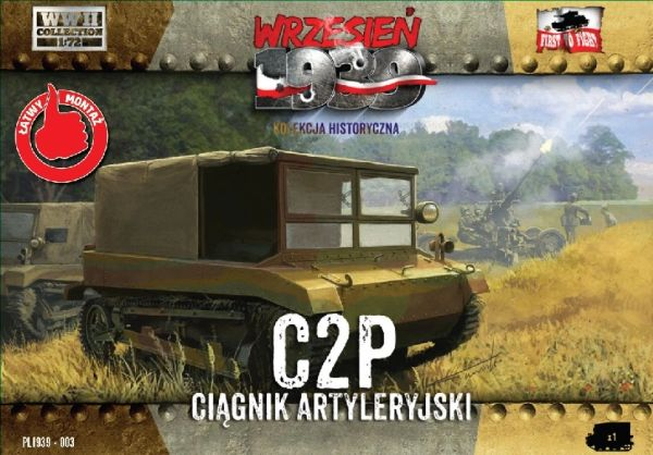 1/72 C2P Polish Light Artillery Tractor - First to Fight 003