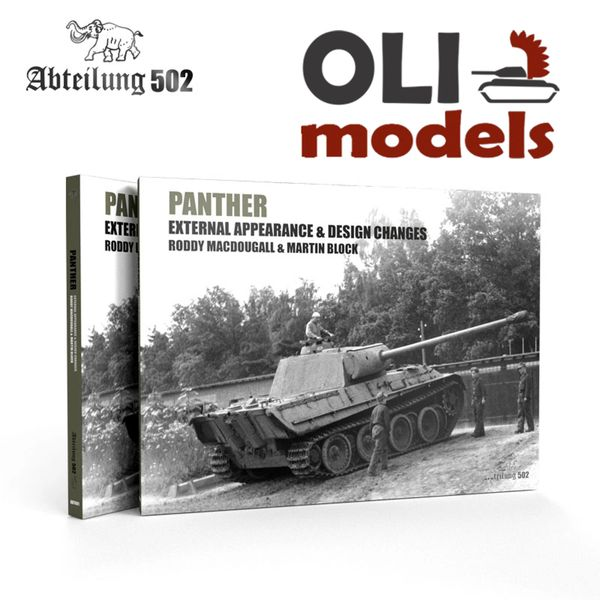 PANTHER Tank External Appearance & Design Changes Book - Abteilung 502 ABT601