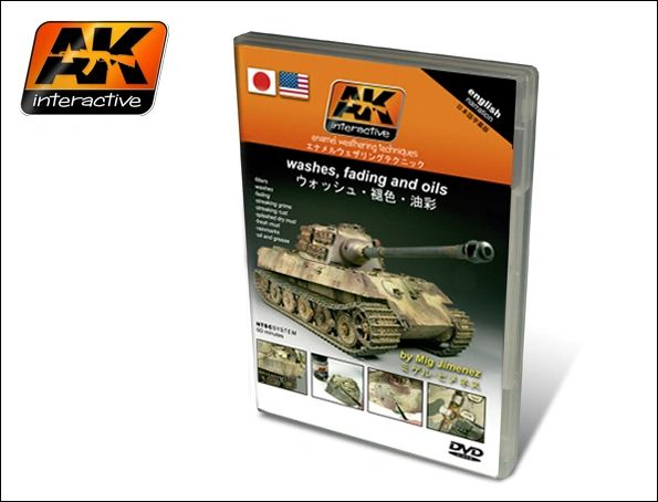 Washes, Fading and Oils - Enamel Weathering Techniques DVD - AK Interactive 117