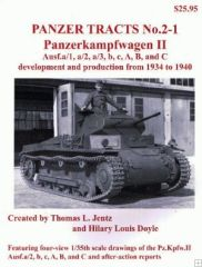 Panzer Tracts No.2-1 PzKpfw II Ausf A/1 to C