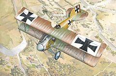 1/72 Albatros D II BiPlane Fighter - Roden 6