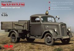 1/35 WWII German Type 2,5-32 (1,5ton) Light Truck - ICM 35401