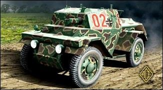 1/72 PzSpWg202(i) Lince Light Armored Army Car - ACE 72249