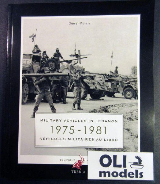 Military Vehicles in Lebanon 1975-1981 Book - AK Interactive 3724