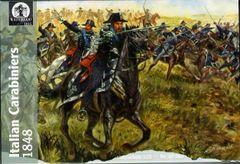 1/72 Waterloo: Italian Carabiniers Cavalry 1848 (12 Mtd) - Waterloo 105