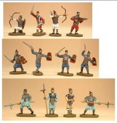 1/72 Ancient Chinese Ch'in Dynasty Army (42) - Caesar 04