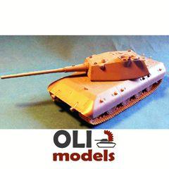 1/72 E-100 Ausf.B Entwicklungspanzer RESIN Conversion - Modell Trans 72340