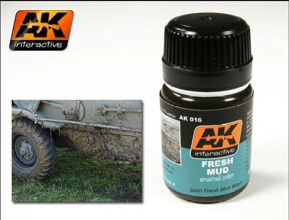 Fresh Mud Enamel Paint 35ml Bottle - AK Interactive 16
