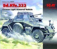 1/48 German SdKfz 222 Light Armored Vehicle - ICM 48191
