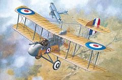 1/32 Airco DeHavilland DH2 WWI British Biplane Fighter - Roden 612