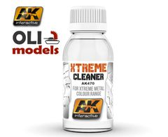 Xtreme Cleaner for Xtreme Metal Color Range 100ml Bottle - AK Interactive 470