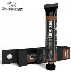 Weathering Oil Paint RAW UMBER 20ml Tube - Abteilung 502 ABT007