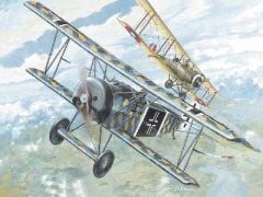 1/72 Fokker D VI BiPlane - Roden 7