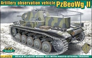 1/72 PzBeoWg II German Artillery Observation Vehicle - ACE 72270