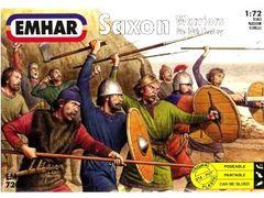 1/72 9th-10th Century Saxons Warriors (50) - Emhar 7206