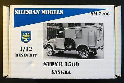 1/72 STEYR 1500 SANKRA Truck FULL RESIN Kit - Silesian Models 7206