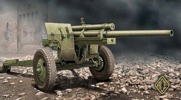1/72 US M5 3 inch Anti-Tank Gun w/M1 Carriage - ACE 72528