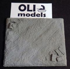 "1/72 ""Depot Road"" Resin Vignette Base - OLI Models 72801"
