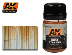 Rust Streaks Enamel Paint 35ml Bottle - AK Interactive 13