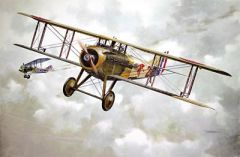 1/32 Spad VII CI Early WWI Main French BiPlane Fighter - Roden 604