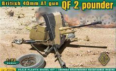 1/72 British QF 2-Pdr 40mm AT Gun - ACE 72504