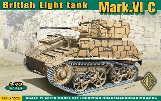 1/72 British Mk VIc Light Tank - ACE 72292