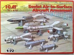 1/72 Soviet Air-to-Surface Aircraft Armament Set - ICM 72213