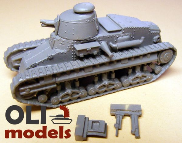 """1/72 Renault NC-27 (with parts for """"Otsu-Gata"""") RESIN KIT - Modell Trans 72809"""