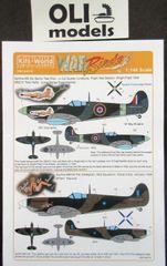 1/144 Spitfire Tolly Hello, Paulie, Hava Go Jo, Avagrog - WBS-144010