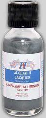 1oz. Bottle Airframe Aluminum Lacquer - ALCLAD 119