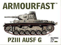 1/72 Panzer.III Ausf.G Tank (2) - Armourfast 99003