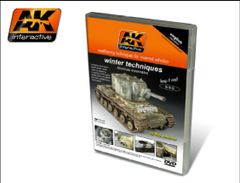 Winter Weathering Techniques for Vehicles DVD - AK Interactive 35